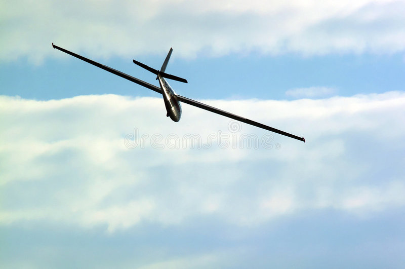 Zweefvliegtuig royalty-vrije stock foto