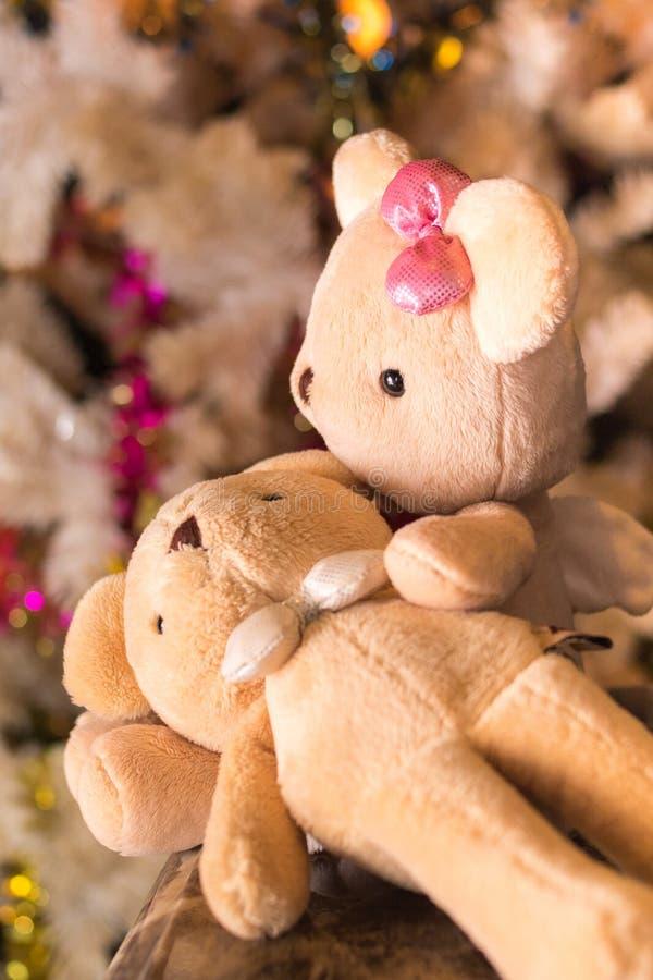 Zwei Bärnpuppen stockfoto