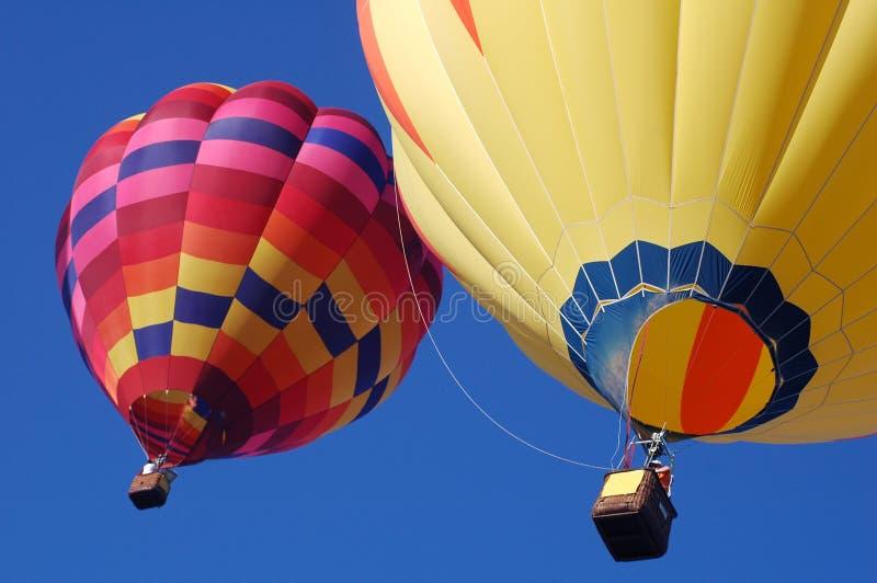 Zwei Ballone stockfotos