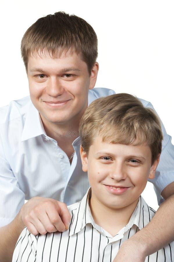 Zwei Brüder stockbilder