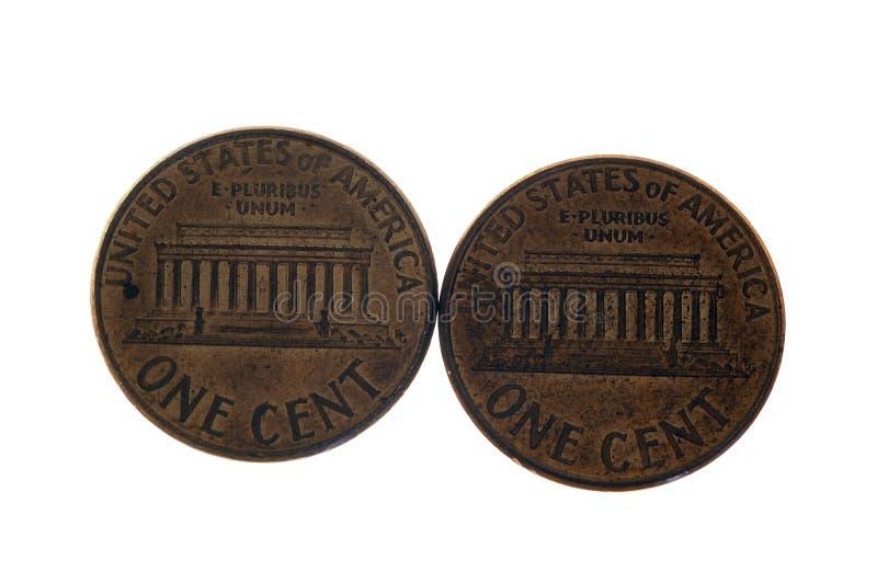 Zwei Cents lizenzfreie stockfotos