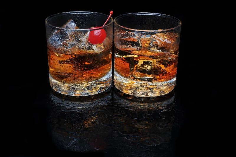 Zwei Cocktails lizenzfreies stockbild