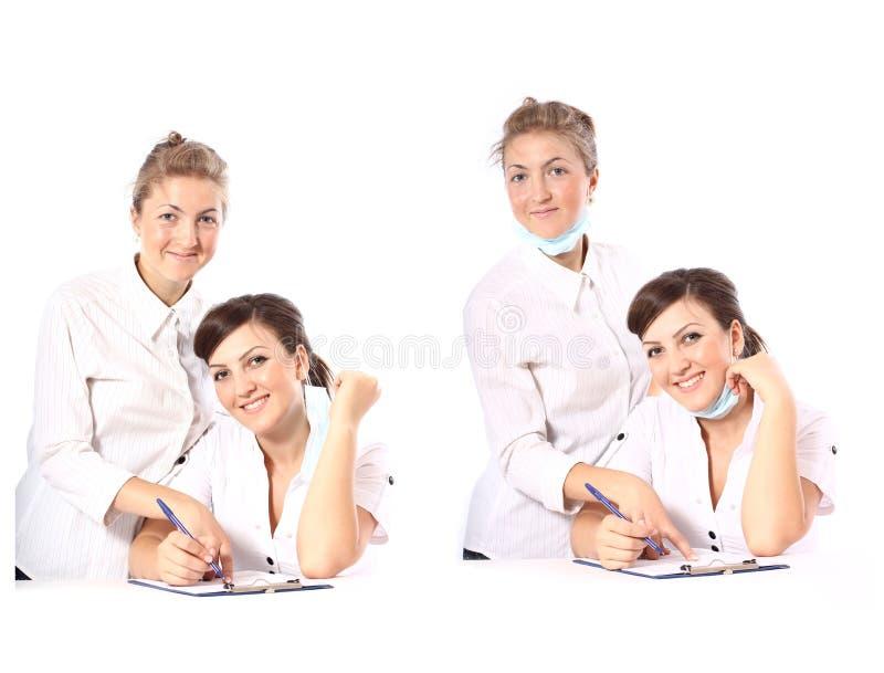 Zwei Doktoren lizenzfreies stockfoto