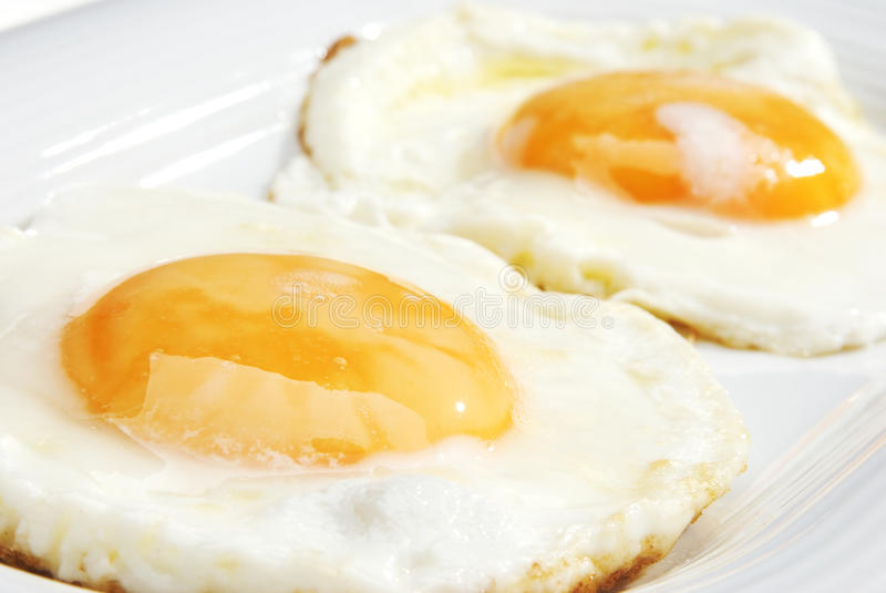 Zwei Eier lizenzfreie stockfotos