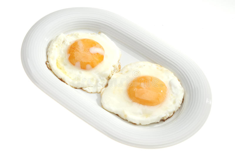 Zwei Eier lizenzfreies stockbild