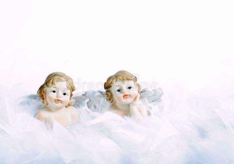 Zwei Engel stockbilder