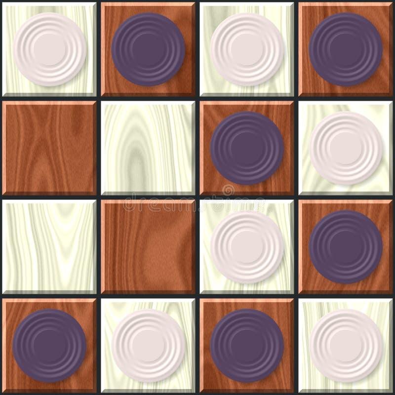 Zwei farbige Schachbrettbeschaffenheit stockfotos