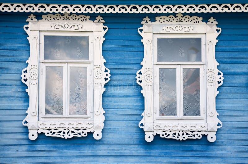 Zwei Fenster lizenzfreie stockfotos