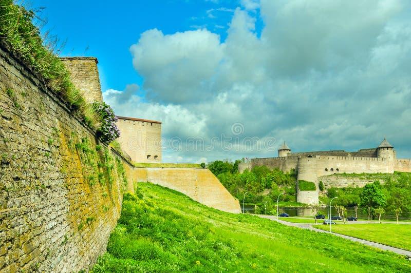 Zwei Festungen stockbild