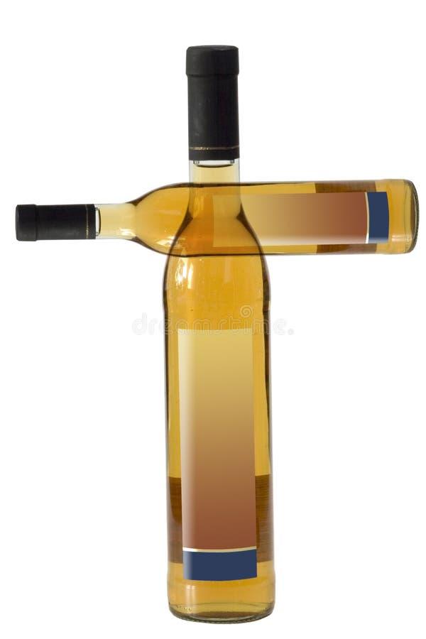 Download Zwei Flaschen Grund stockbild. Bild von wein, getränk, pflaume - 862719