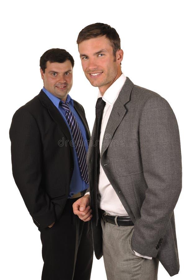 Zwei Geschäftsmänner stockfoto