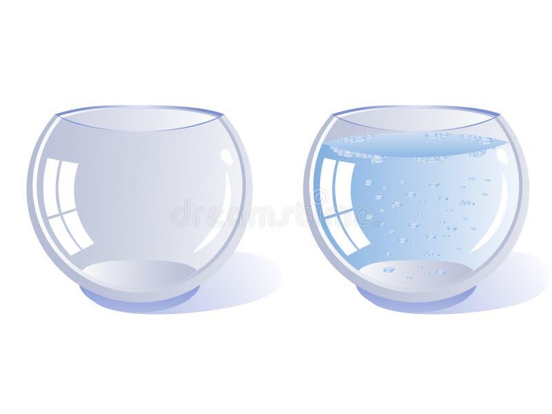Zwei Gläser stock abbildung