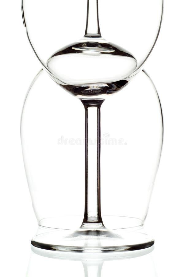 Zwei Gläser lizenzfreies stockfoto