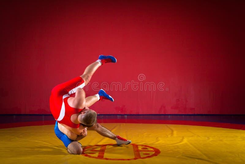 Zwei griechisch-romanische Ringkämpfer stockbilder