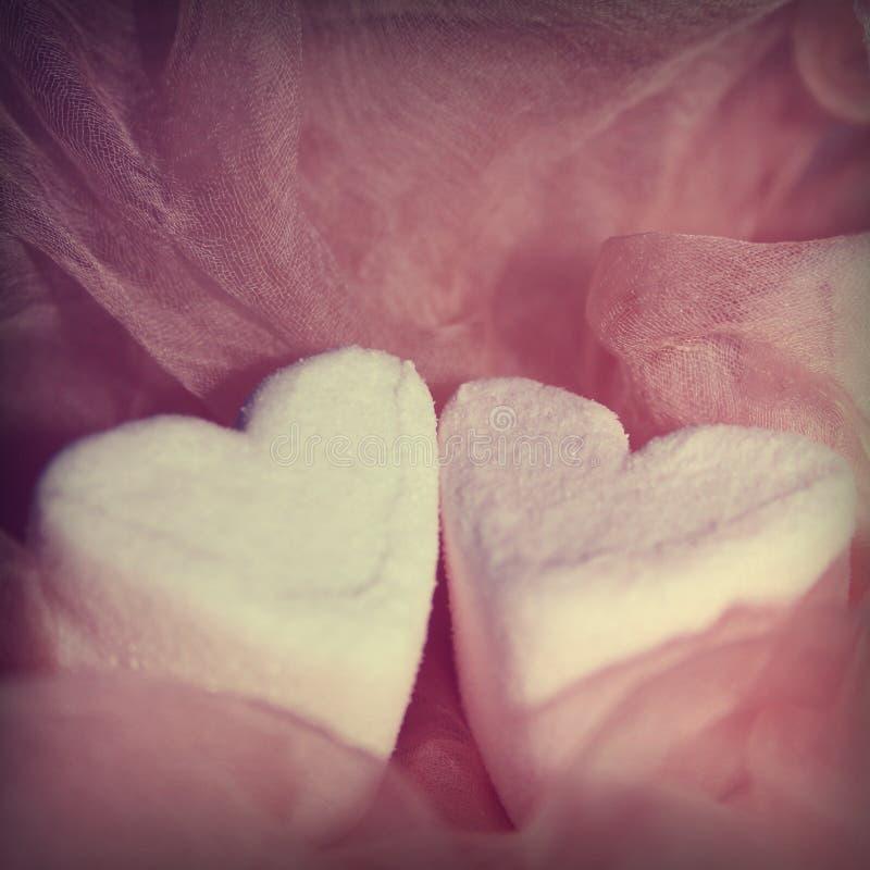 Zwei Herzen geh?ren zusammen stockbilder