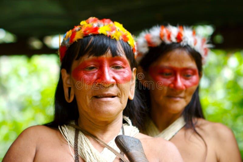 Zwei indische Frauen lizenzfreies stockbild
