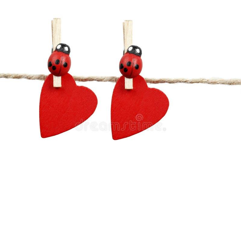 Zwei Innere auf einem Seil stockfotos