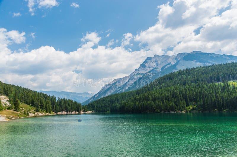 Zwei Jack Lake II stockfoto