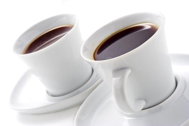 Zwei Kaffeetassen Lizenzfreies Stockbild