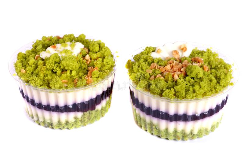 Zwei kleine Kuchen stockfotografie