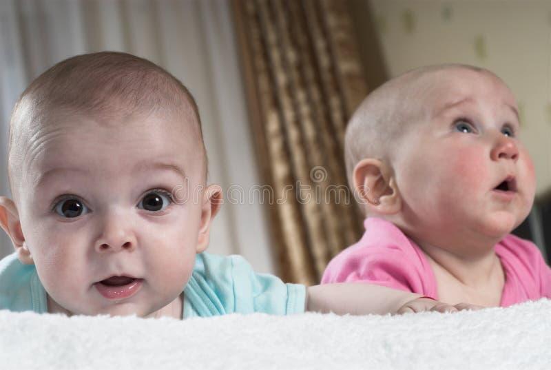 Download Zwei kleine Welten stockfoto. Bild von familie, pink, paare - 9090474