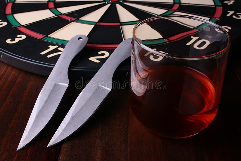 Zwei knifes stockfotografie
