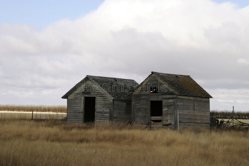 Zwei Korn-Stauräume Lizenzfreie Stockfotografie
