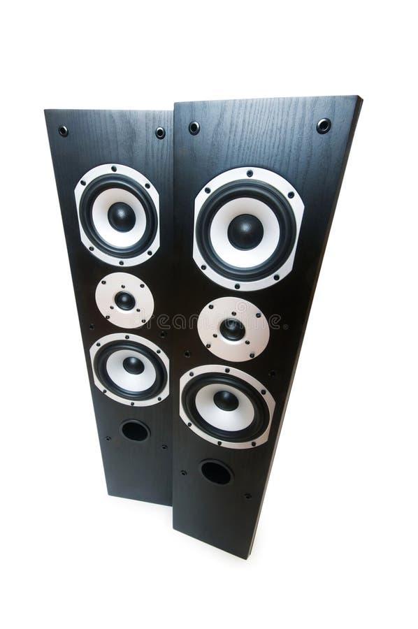 Zwei Lautsprecher getrennt lizenzfreie stockfotografie