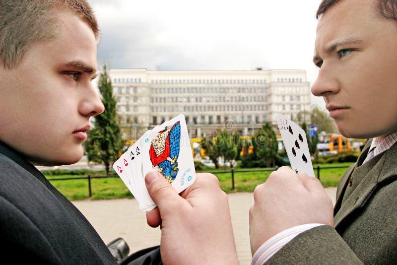 Zwei Männer lizenzfreie stockbilder