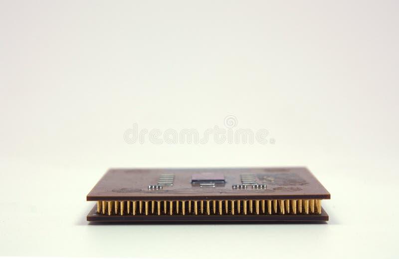 Zwei Mikroprozessoren getrennt lizenzfreie stockfotografie