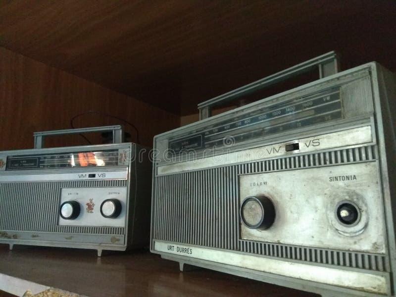 zwei Radios stockfotografie