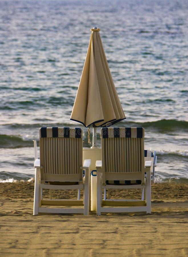 Zwei Strand-Stühle