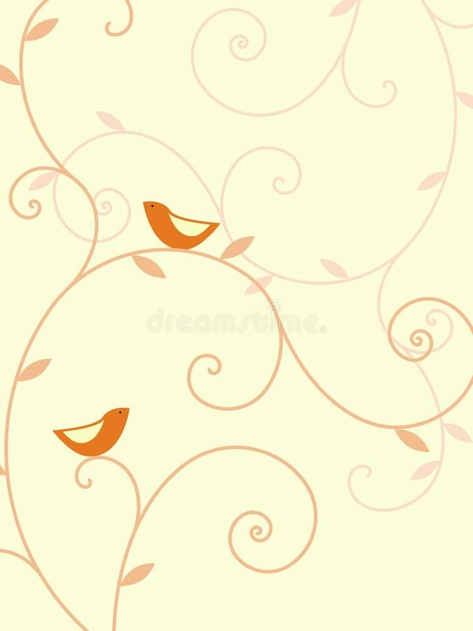 Zwei Vögel vektor abbildung