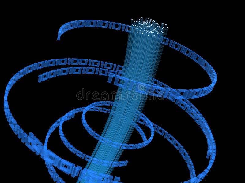Zweiheit und Faser glas stock abbildung