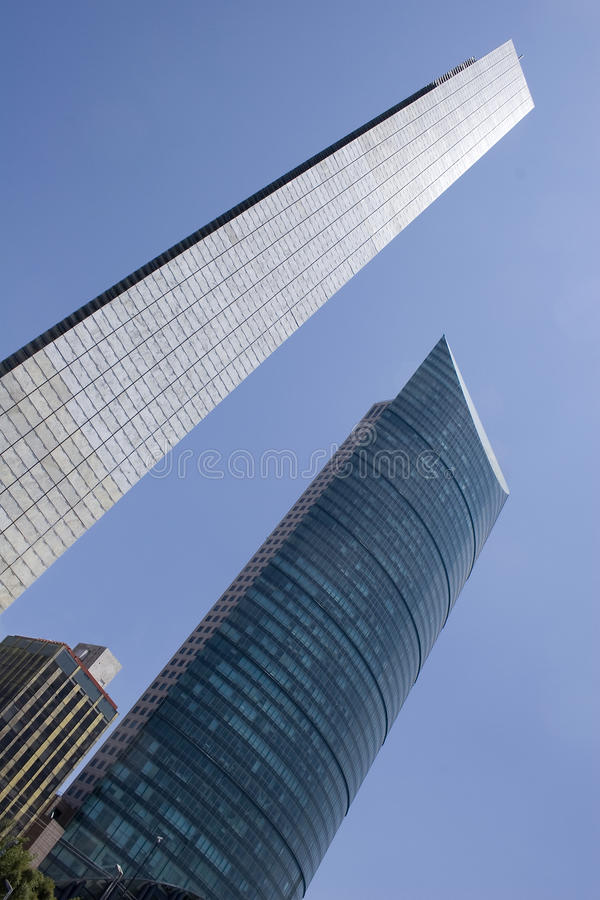 Zweihundertjähriger Kontrollturm, Mexiko City stockfoto