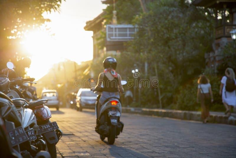 Zweirad-Asien stockfotos