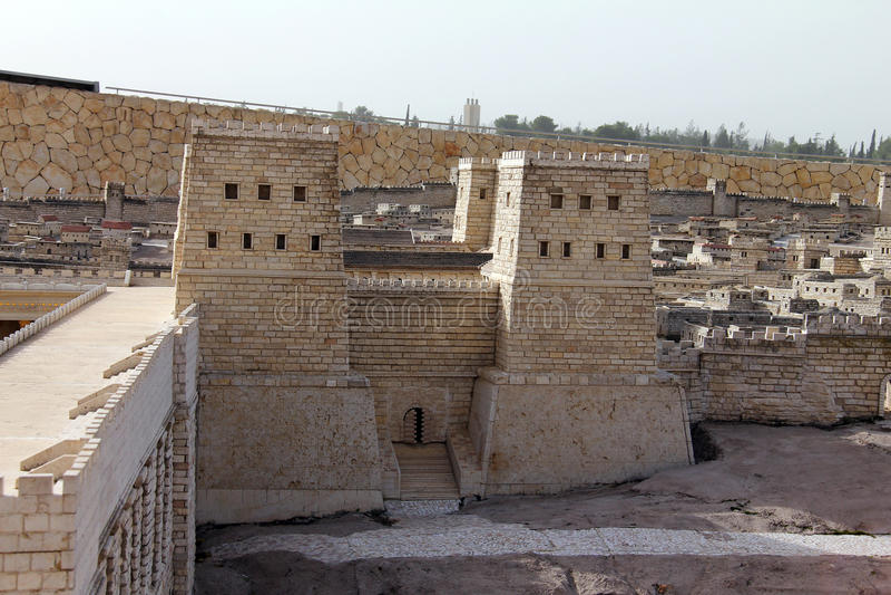 Zweiter Tempel. Anthonys Schloss stockfotografie