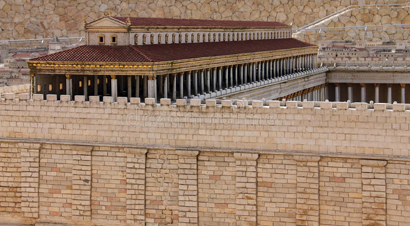 Zweiter Tempel. Basilika stockfoto