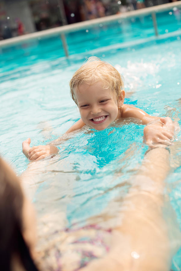Zwembadles Royalty-vrije Stock Foto's