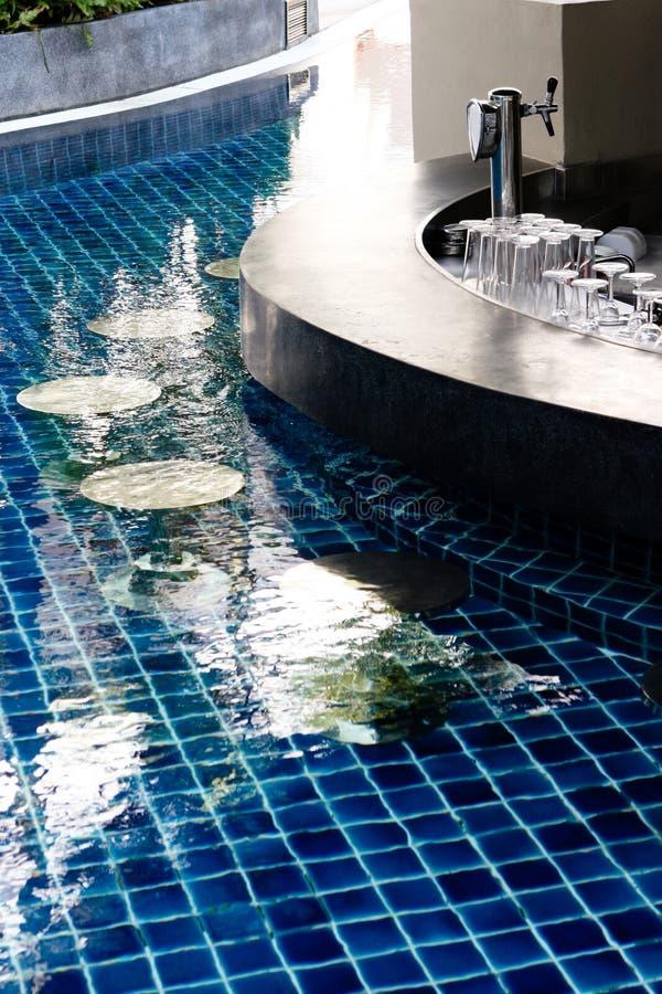 Zwembadstaaf stock fotografie