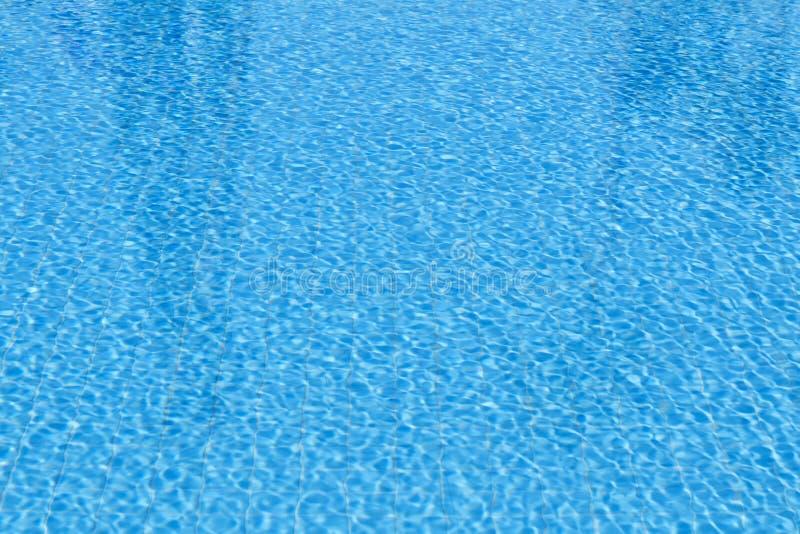 Zwembadwater stock afbeelding