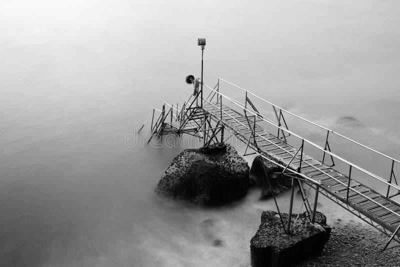 Zwemmen Afgeworpen in SaiWan stock afbeelding