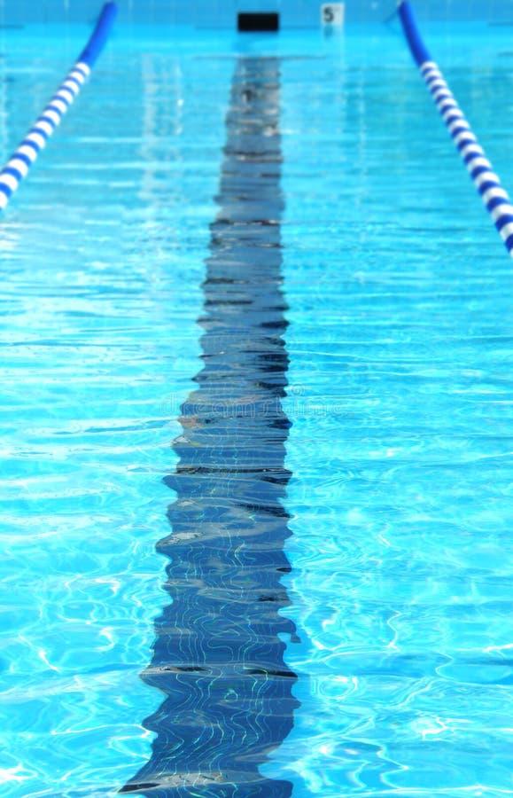 Zwemmende Steeg royalty-vrije stock afbeeldingen