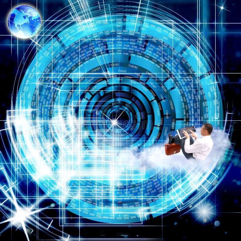 Związek. Cyber ochrona ilustracji