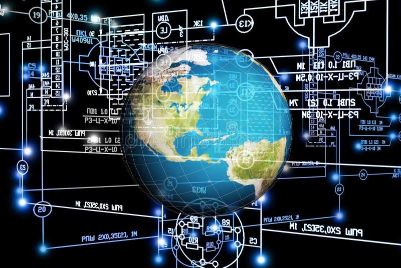 Związek inżynierii technologia obraz royalty free