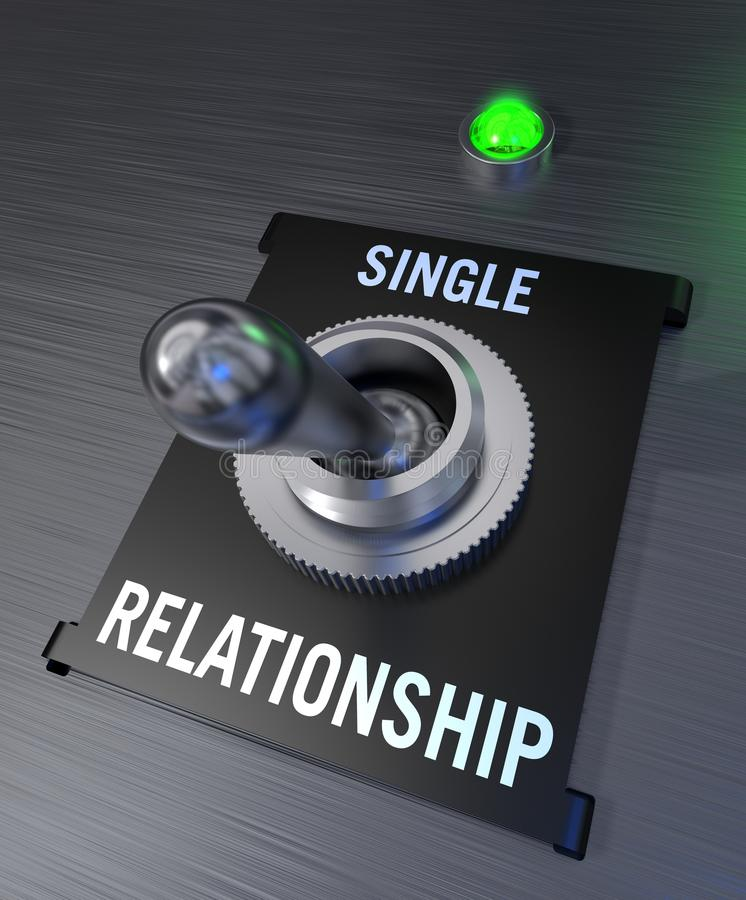 związek pojedynczy ilustracji
