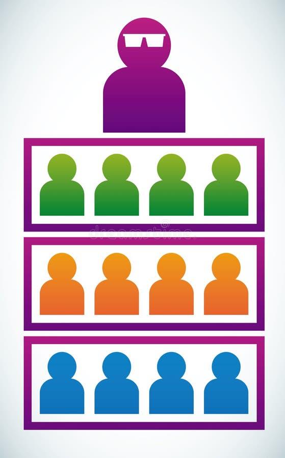 związek socjalny ilustracja wektor