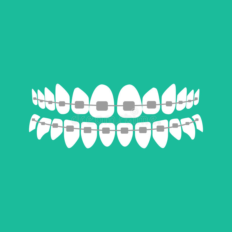 związuje zęby ilustracji