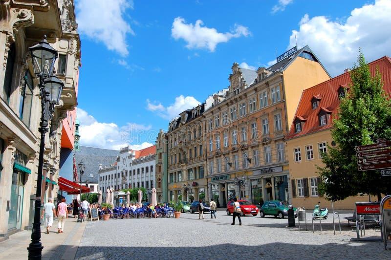 Zwickau, Deutschland stockfotos