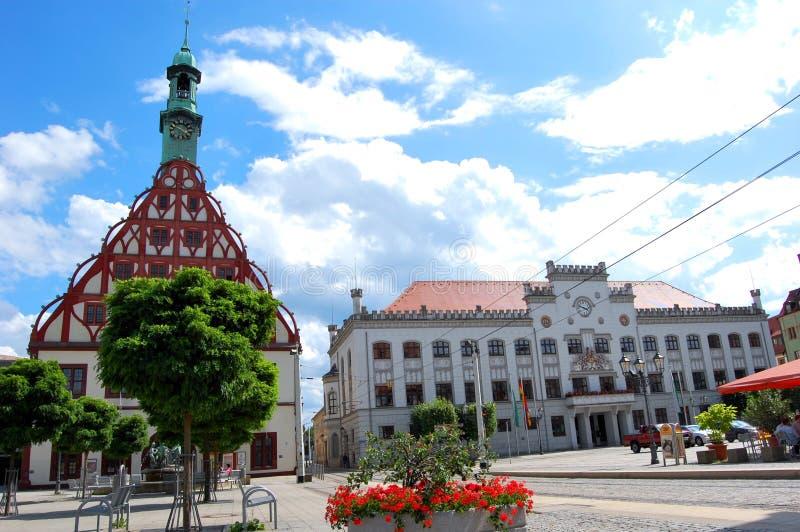 Zwickau, Deutschland lizenzfreies stockbild